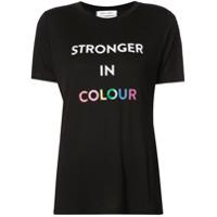 Prabal Gurung Camiseta Com Estampa 'stronger' - Preto