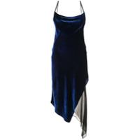 Kiki De Montparnasse Vestido Assimétrico - Azul