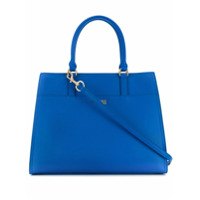 Trussardi Jeans Bolsa Tote Grande - Azul