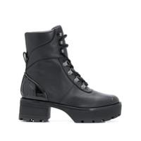 Michael Michael Kors Ankle Boot Chunky - Preto