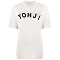 Y-3 Camiseta Com Estampa Yohji - Neutro
