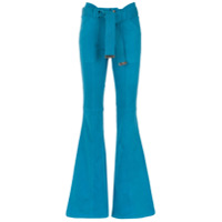 Andrea Bogosian Calça Jeans Flare - Azul
