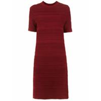 Egrey Vestido Midi De Tricô - Vermelho