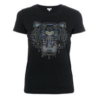 Kenzo Camiseta Com Estampa 'tiger' - Preto