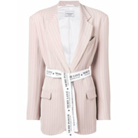 Forte Dei Marmi Couture Blazer Listrado - Rosa