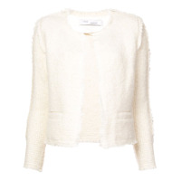 Iro Jaqueta Tweed Cropped - Branco