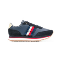 Tommy Hilfiger Sequin Detail Runner Sneakers - Azul