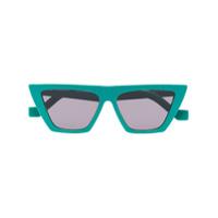 Tol Eyewear Óculos De Sol Angular - Verde