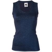 M Missoni Knit Tank Top - Azul