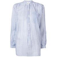 Isabel Marant Étoile Jada Pinstripe Shirt - Azul