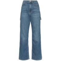 Eve Denim Calça Jeans Carolyn Modelagem Solta - Azul