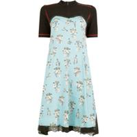 Koché Vestido Floral - Preto