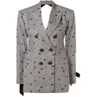 Seen Users Star Embellished Blazer - Preto
