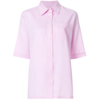 Holland & Holland Camisa Com Bolso No Busto - Rosa