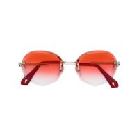 Sauren Eyewear Óculos De Sol 'jasmine' - Metálico