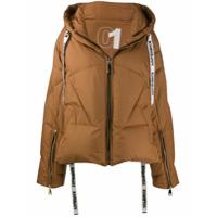 Khrisjoy Oversized Padded Jacket - Marrom