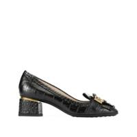 Tod's Sapato Com Franjas - Preto