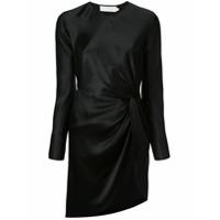 Michelle Mason Vestido Com Detalhe De Nó - Preto
