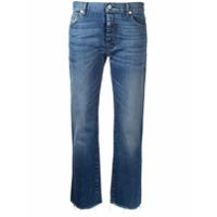 Nili Lotan Calça Jeans Cropped - Azul