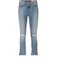 Rag & Bone /jean Calça Jeans Cropped - Azul