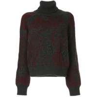Barrie Suéter Em Cashmere - Cinza
