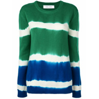 Prabal Gurung Suéter De Cashmere Tie Dye - Azul
