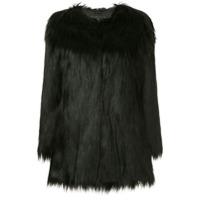 Unreal Fur Casaco Com Pelos - Preto
