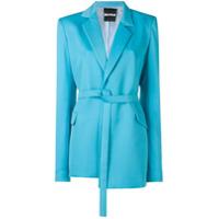 House Of Holland Blazer De Alfaiataria Assimétrico - Azul