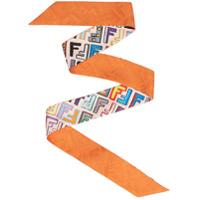 Fendi Cachecol De Seda 'fun Wrappy' - Estampado