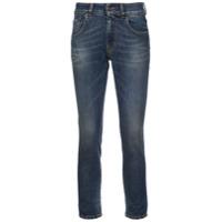 6397 Calça Jeans Skinny Cropped - Azul