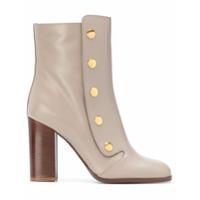 Mulberry Ankle Boot De Couro - Neutro