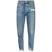 Agolde Calça Jeans Cintura Alta - Azul