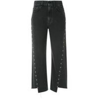 7 For All Mankind Calça Cropped Jeans Marnie - Preto