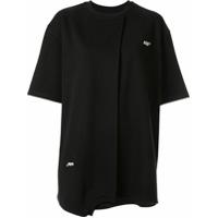 Ader Error Camiseta Mangas Curtas - Preto