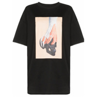 Ten Pieces Camiseta Com Logo 'x Rude Hand Skull' - Preto