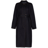 Moncler Trench Coat Jeans - Azul