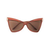 Tom Ford Eyewear Óculos De Sol Gatinho - Rosa