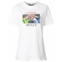House Of Holland Camiseta 'cyber Bully' - Branco