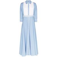 Evi Grintela Vestido Longo Garance - Azul