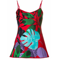F.r.s For Restless Sleepers All-Over Print Top - Vermelho