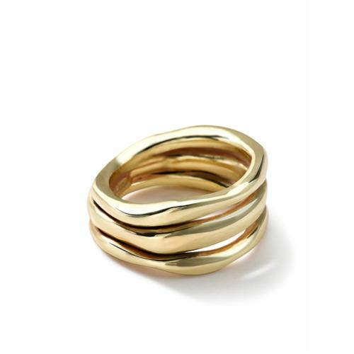 IPPOLITA Anel Squiggle de ouro 18k - Gold