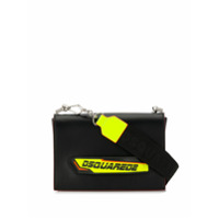 Dsquared2 Clutch Com Logo - Preto