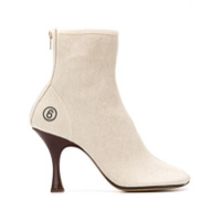 Mm6 Maison Margiela Ankle Boot Anatômica - Neutro