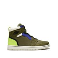 Jordan Tênis Wmns Air Jordan 1 Com Zíper - Green