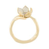 Shaun Leane Anel 'cherry Blossom' Banhado A Ouro - Metálico