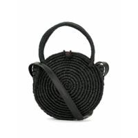 Sensi Studio Round Wicked Handbag - Preto