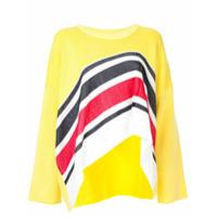 Aalto Suéter Assimétrico - Amarelo