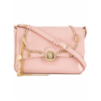 Liu Jo Chain Trimmed Crossbody Bag - Rosa