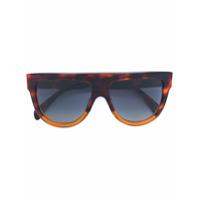 Celine Eyewear Óculos De Sol 'd-Frame' - Marrom