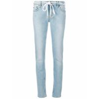 Off-White Calça Jeans Skinny 'diag' - Azul